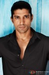 Farhan Akhtar gives an intense look
