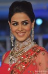 Genelia D'souza walks the ramp at Sakaria brother's jewellery show