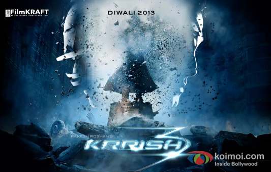 Krrish 3 Motion Movie Poster