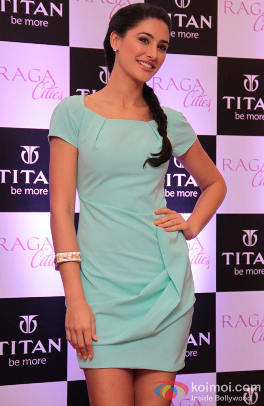 Nargis Fakhri launches Titan Raga's Cities Collection