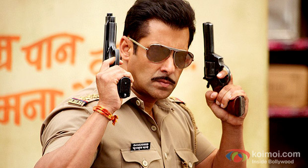 Salman Khan in Dabangg 2 Movie Stills