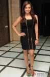 Sana Khan looks stunning in a LBD