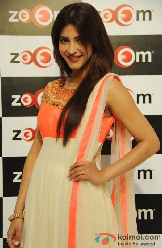 Shruti Haasan visits the Zoom Studio