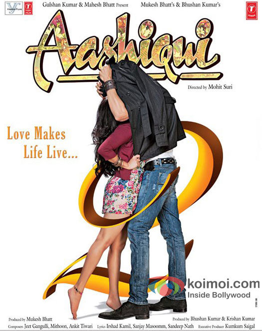 Aditya Roy Kapoor and Shraddha Kapoor in Aashiqui 2 Movie Poster