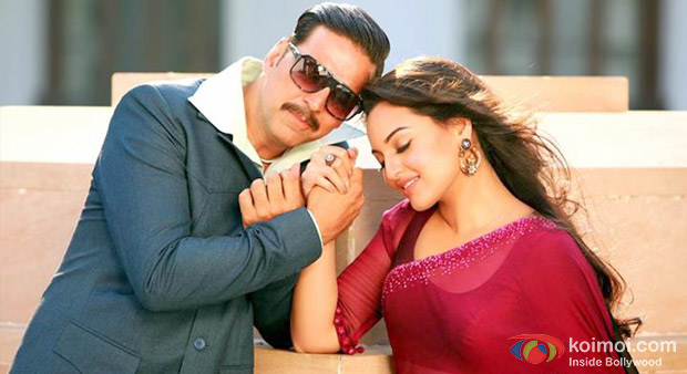 Akshay Kumar And Sonakshi Sinha in Once Upon A Time In Mumbaai Dobaara! Movie Stills