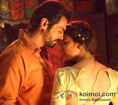 Arjun Rampal and Shruti Haasan in D Day Movie Stills