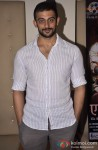 Arunoday Singh poses during the press conference of film Ek Bura Aadmi