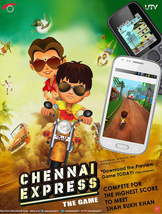 mumbai to chennai express game free