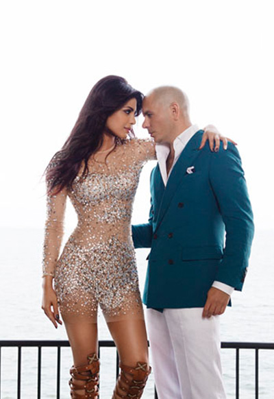 Priyanka Chopra And Pitbull