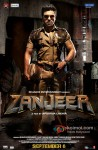 Ram Charan Teja in Zanjeer 2013 Movie Poster