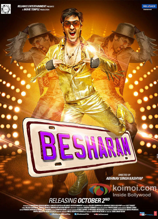 Ranbir Kapoor Besharam Movie Poster (Ranbir Kapoor Besharam Movie New Poster)