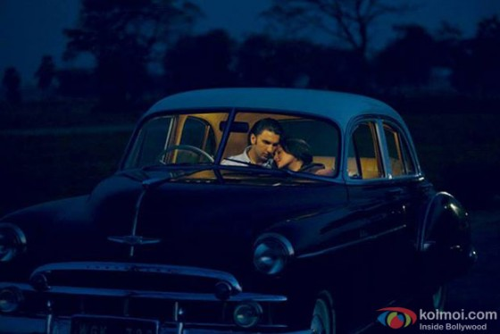 Ranveer Singh and Sonakshi Sinha in Lootera Movie Stills