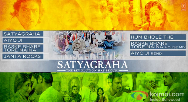 Satyagraha Jukebox Movie Poster
