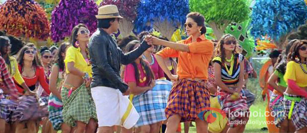 Shah Rukh Khan And Deepika Padukone in Chennai Express Movie Stills