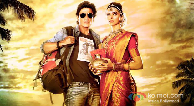 Shah Rukh Khan And Deepika Padukone In Chennai Express Movie Poster
