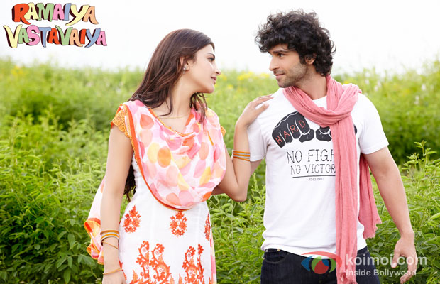 Shruti Haasan And Girish Kumar In Ramaiya Vastavaiya Movie Stills