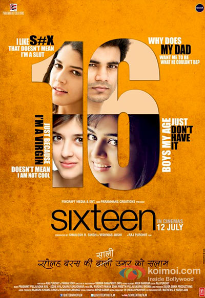 Sixteen New Movie Poster