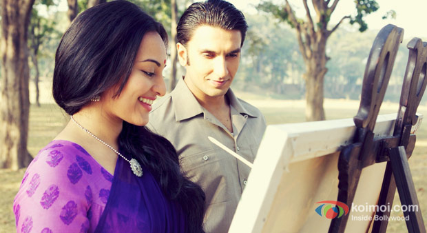 Sonakshi Sinha And Ranveer Singh in Lootera Movie Stills