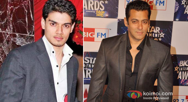 Suraj Pancholi And Salman Khan