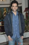 Tusshar Kapoor on the sets of CID