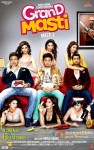Vivek Oberoi, Riteish Deshmukh and Aftab Shivdasani in Grand Masti Movie Poster