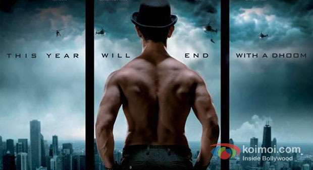 Aamir Khan In Dhoom 3 Movie Poster