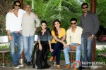 Arjun Rampal, Prakash Jha, Amrita Rao, Kareena Kapoor, Manoj Bajpai And Ajay Devgn promote Satyagraha movie in Delhi Pic 2