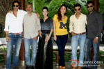 Arjun Rampal, Prakash Jha, Amrita Rao, Kareena Kapoor, Manoj Bajpai And Ajay Devgn promote Satyagraha movie in Delhi Pic 1