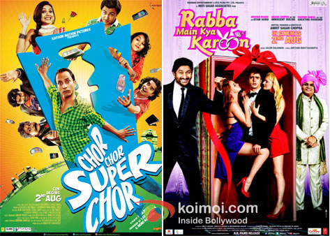 Chor Chor Super Chor And Rabba Main Kya Karoon Movie Posters
