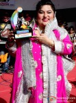 Dolly Bindra Celebrates 'Dahi Handi' Festival