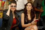 Kainaat Arora And Bruna Abdullah At 'Grand Masti' Book Launch Event