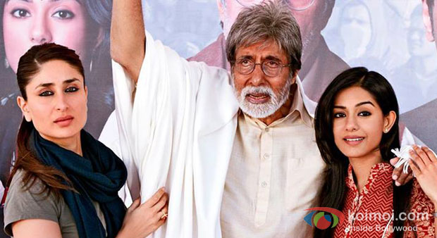 Kareena Kapoor, Amitabh Bachchan And Amrita Rao in Satyagraha Movie Stills