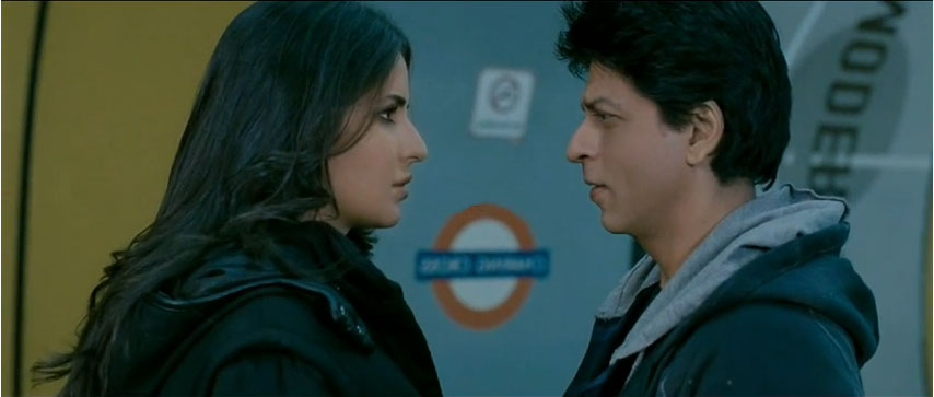 Katrina Kaif And Shah Rukh Khan in Jab Tak Hai Jaan Movie Stills