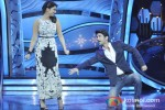 Parineeti Chopra And Sushant Singh Rajput promote Shudh Desi Romance on the sets of 'Dance India Dance' Pic 1