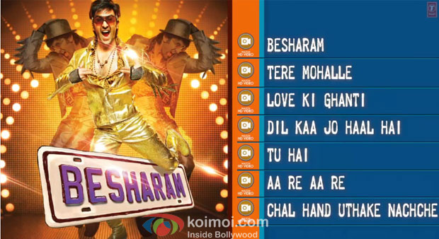 Ranbir Kapoor in Besharam Movie Jukebox Stills