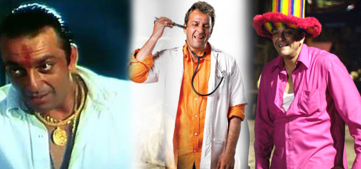 Sanjay Dutt in Vaastav Munna Bhai M.B. B. S. And-Lage Raho Munna Bhai Movie Stills