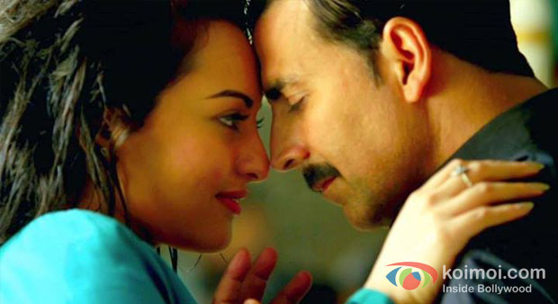 Sonakshi Sinha And Akshay Kumar in Once Upon A Time In Mumbaai Dobaara! Movie Stills