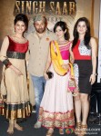 Urvashi Rautela, Sunny Deol, Amrita Rao, Anjali Abrol launch First look of 'Singh Saab The Great' Pic 1