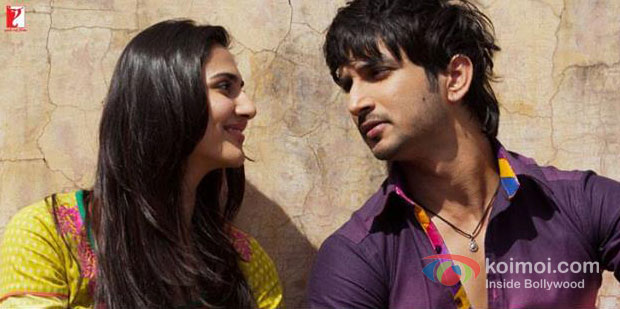 Vaani Kapoor And Sushant Singh Rajput in Shuddh Desi Romance Movie Stills