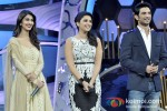 Vaani Kapoor, Parineeti Chopra And Sushant Singh Rajput promote Shudh Desi Romance on the sets of 'Dance India Dance' Pic 2