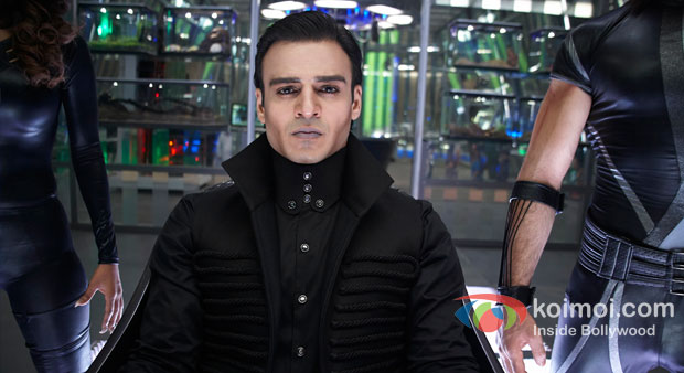 Vivek Oberoi in Krrish 3 Movie Stills