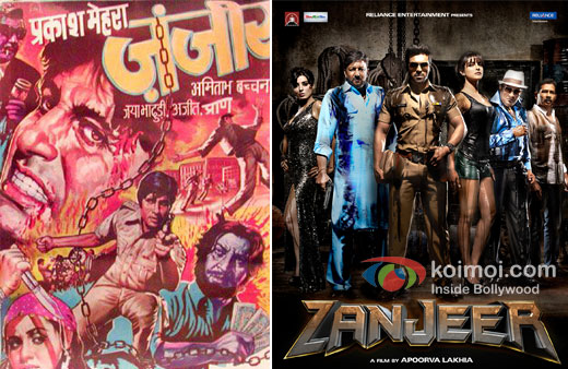 Zanjeer And Zanjeer 2013 Movie Poster