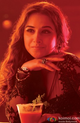 A Thoughtful Vidya Balan Looks On