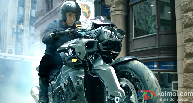 Aamir Khan in Dhoom:3 Movie Stills