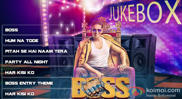 Akshay Kumar in Boss Jukebox Movie Stills