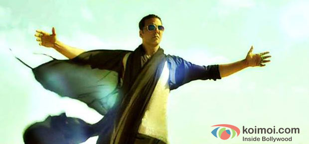 Akshay Kumar in Boss Song Movie Stills