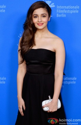Alia Bhatt In A Dior Gown At Berlin Film Festival