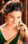 Alia Bhatt gives a cute smile here