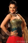 Ameesha Patel walks the ramp at IIJW 2014 on Day 1
