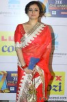 Divya Dutta In A Red Saree At Zee Cine Awards